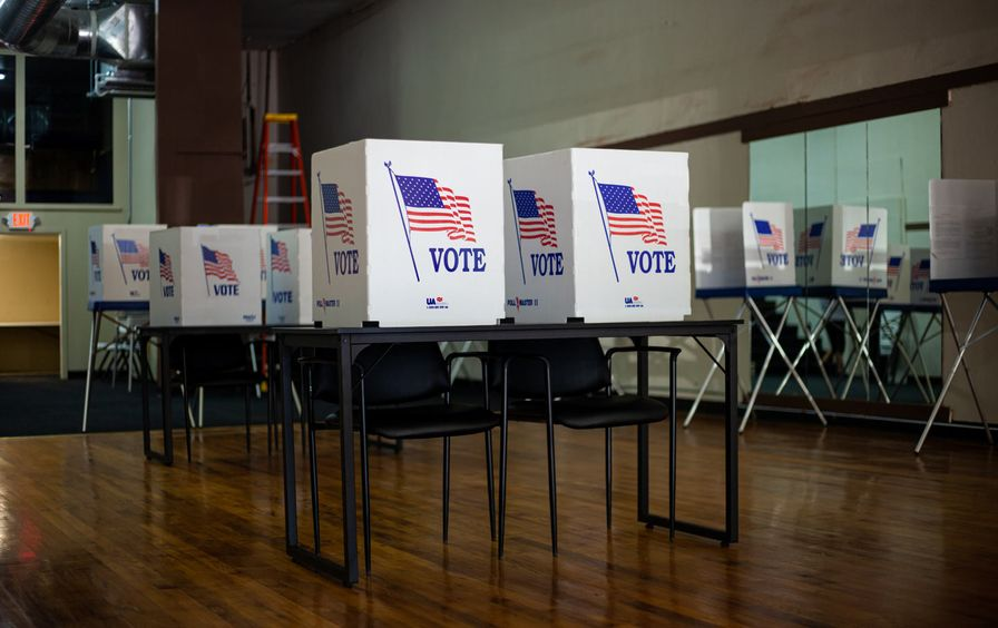 Voting booths