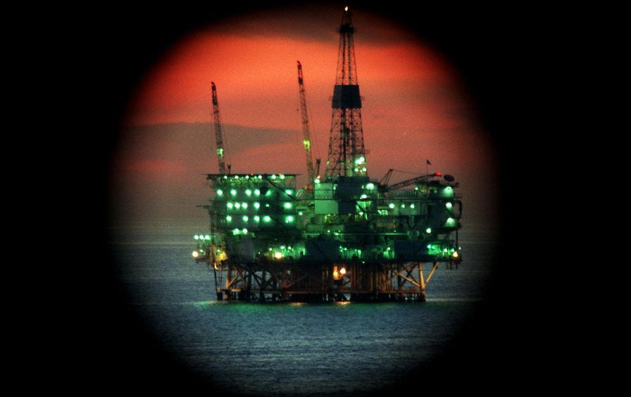 Eureka Oil Platform