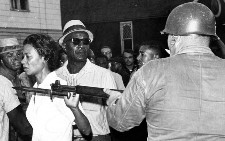 Civil rights Cambridge protest 1963