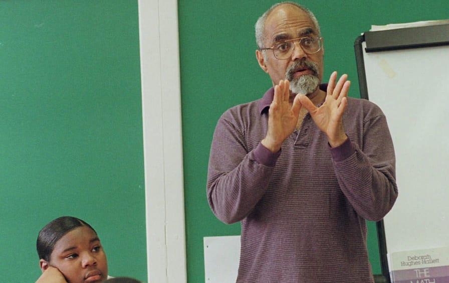 Bob Moses teaching