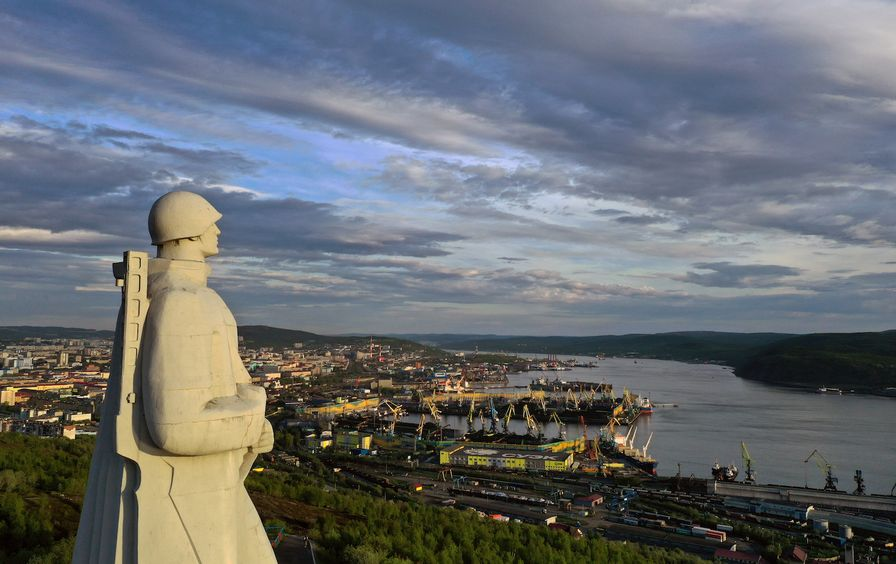 Russian city of Murmansk in pictures