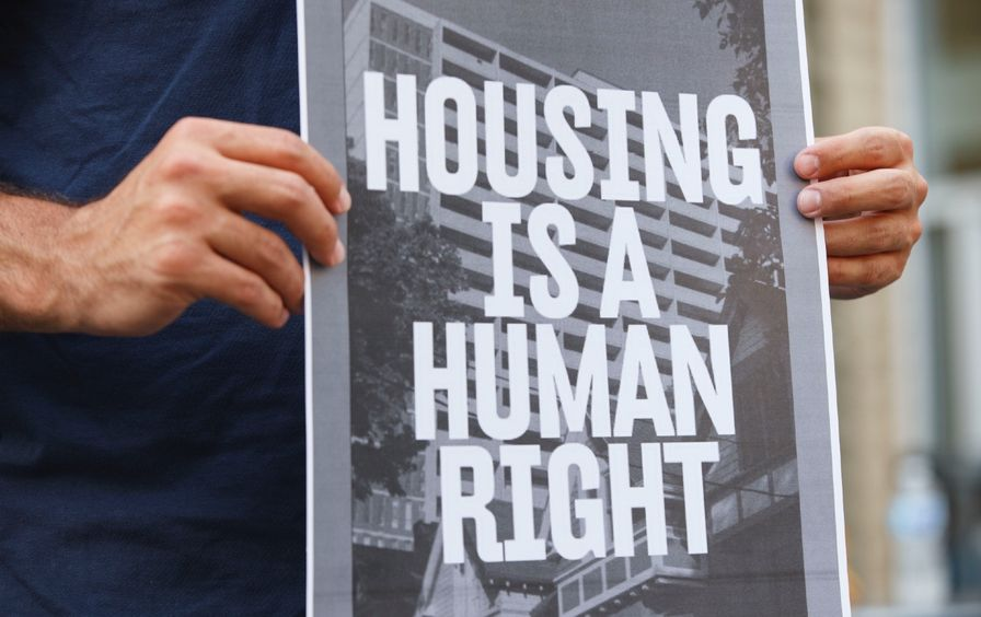 Housing Rights sing