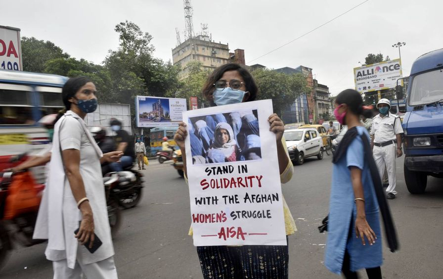 Protest for Afghanistan in India