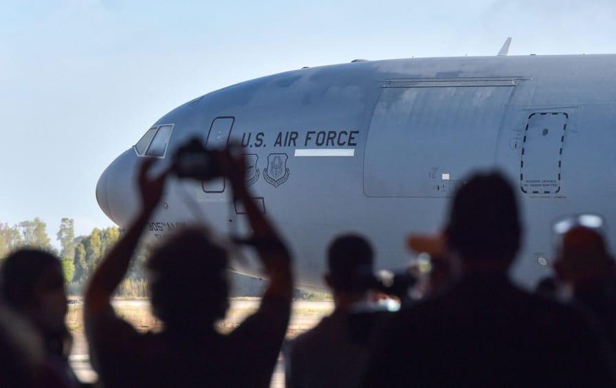 Afghanistan evac plane