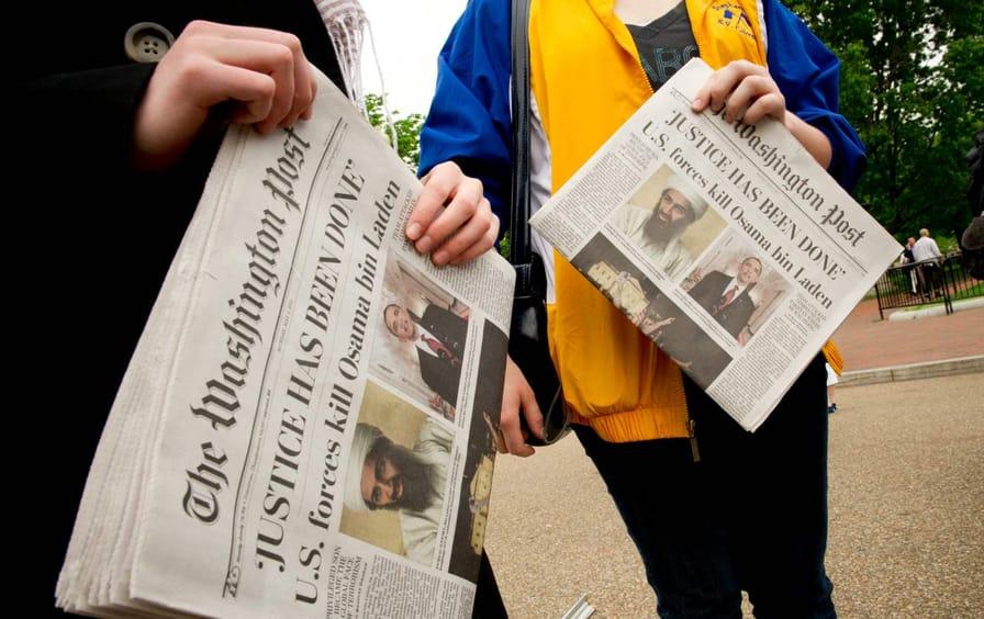 Osama bin Laden Newspapers