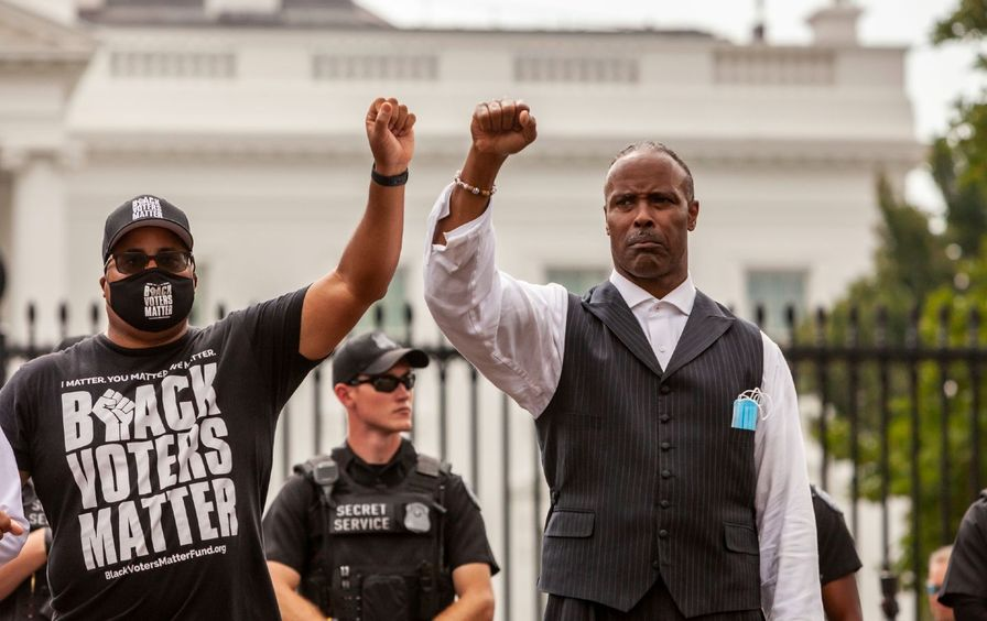 voting-rights-protest-white-house