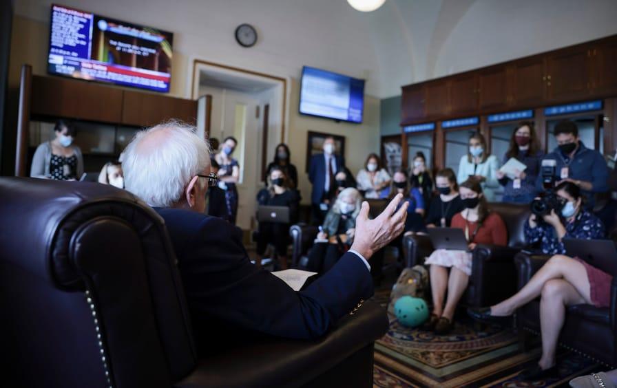 Bernie Sanders Spending Bill