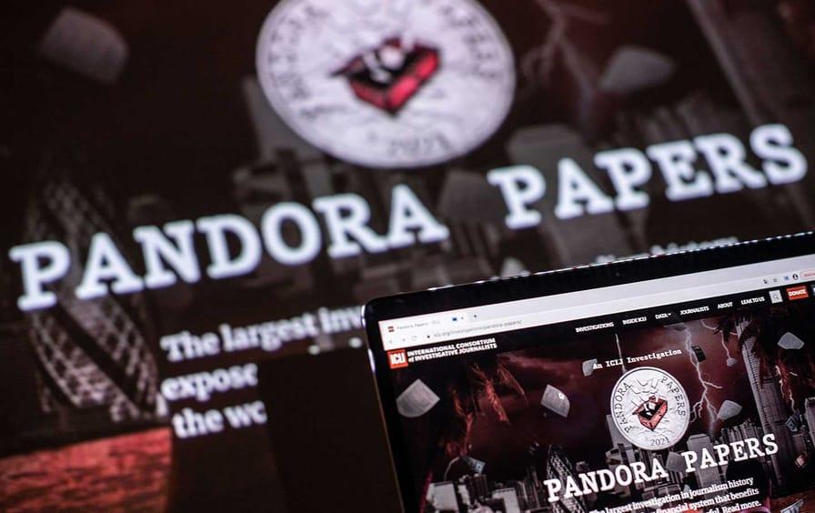Pandora Papers logo