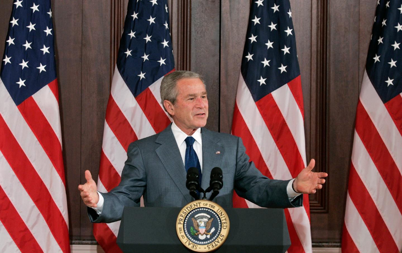 bush-jr-speech-gty-img