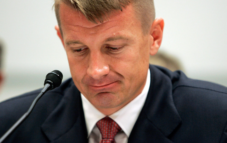 Erik Prince testifies