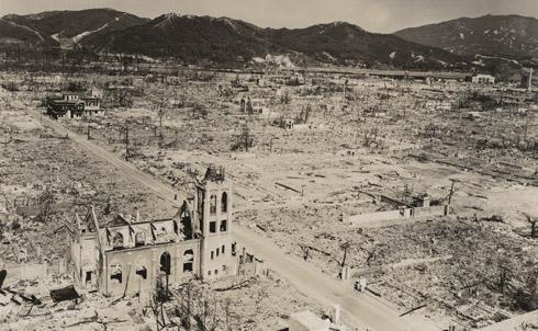 Credit: International Center of Photography / United States Strategic Bombing Survey, Physical Damage Division