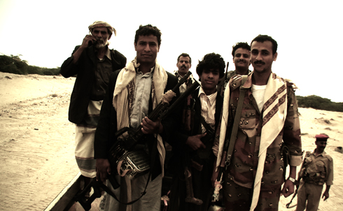 General Sumali's troops