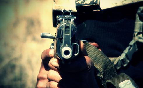 An elite Counter Terrorism Unit soldier