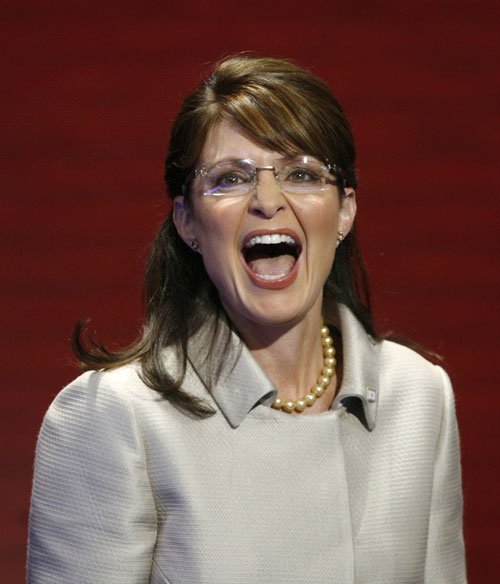 From the moment she rose to national prominence, Sarah Palin has been a polarizing , yet formidable political figure. She has managed to merge qualities of Nixon, Reagan and George W. Bush into a style uniquely her own. While she may not have won over the nation-at-large, her fan base is undeniably fervent. As she prepares to exit as governor of Alaska, here is a look back at The Nation's coverage of this fascinating political figure. [Reuters Pictures]