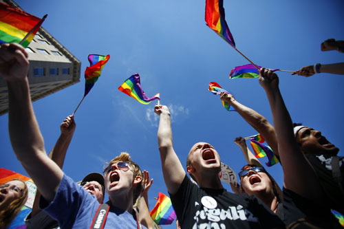 On October 10 and 11, a massive National Equality March is held to call attention to gay rights issues and concerns. For much of the straight population it is their first exposure to the growing anger and frustration the LGBT community feels when it comes to the Obama administration. AP Photos