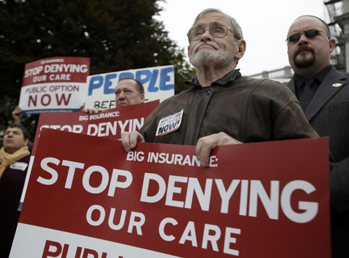 Despite the seemingly never-ending stream of attacks from the opposition, progressives must not forget that healthcare reform is closer to becoming law under President Obama than any of his predecessors. We must fight now more than ever to insure that not only the bill passes but that the best version of it does.[AP Images]