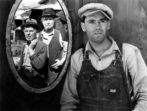 The Grapes of Wrath (1940) John Steinbeck's other Depression-era masterpiece stars Henry Fonda in a perfect summation of the hardships endured by American farmers and a glimmer of hope for a better tomorrow. (Photo: Everett Collection)