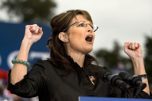 After McCain/Palin lose decisively to the Obama/Biden ticket, many observers suggest that the Alaska governor's performance played a serious role in McCain's defeat. Nevertheless Palin is eager to burnish her 2012 credentials. Upon returning to Alaska she shuns stimulus money for her state while battling yet more ethics allegations and attacks from former McCain campaign staffers.[AP Images]
