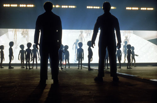 Close Encounters of the Third Kind (1977) Audiences of the seventies are enthralled by science fiction. But this 1977 classic takes a cerebral and spiritual look at kinder, gentler aliens. [AP Images]