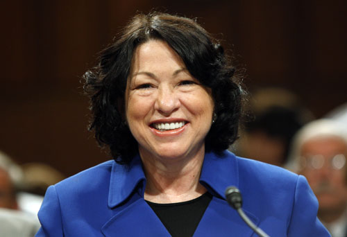 The president's selection Sonia Sotomayor (the first Latino and only the third woman) to serve on the US Supreme Court unleashes a torrent of bigotry and sexism from the right. However, Sotomayor's impeccable credentials and poise under pressure overcome the attacks and she is easily confirmed by Congress.Reuters Pictures
