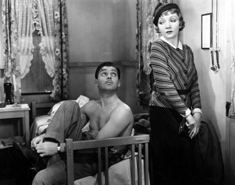 Image result for clark gable no undershirt