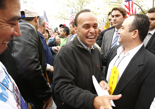 In December, Representative Luis Gutierrez (D-IL) introduced an impressive bill that would open up a path to citizenship for millions of undocumented immigrants. In order to be eligible, immigrants would have to show proof of employment, pay a $500 fine, and pass background and language checks. The legislation would also require improvements to detention facilities and an end to the 287(g) program. This bill is a shining first step in what promises to be a heated battle over immigrant rights in the coming year. AP Images