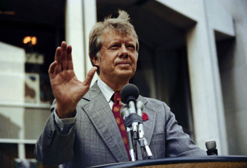 Jimmy Carter was vilified as indecisive and ineffectual during his one-term presidency although today his prescient approach to issues like energy independence and his ability to forge peace between Israel and Egypt look more like a blueprint for any president who wants to effectively engage with an evolving world.[AP Images]