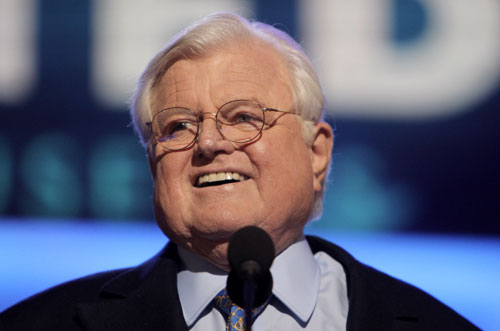 "On August 25 the nation loses arguably the greatest legislator in its history when the ""Liberal Lion"" Ted Kennedy dies after fighting a long battle with brain cancer. His legacy of legislative accomplishments is unparalleled and his voice in the ongoing healthcare fight is sorely missed.AP Images"