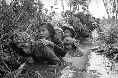 "As the Vietnam war comes to an end Americans do some serious soul-searching about the meaning of the conflict. Turns out the ""best and the brightest"" architects of the war were nothing of the sort and innocent Vietnamese civilians likely suffered more than anyone else.[AP Images]"
