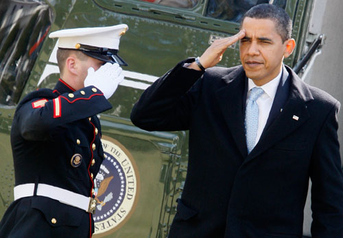 Obama reveals his strategies for a gradual US troop withdrawal from Iraq  and for a buildup in Afghanistan. Robert Dreyfuss, long a critic of the president's foreign policy, admits that the Afghan plan could have been worse, but adds that there needs to be more pressure on the president for a detailed exit strategy. (AP Images)