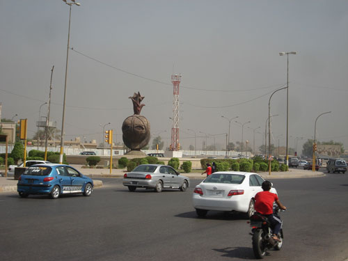 Nisour Square in 2009.
