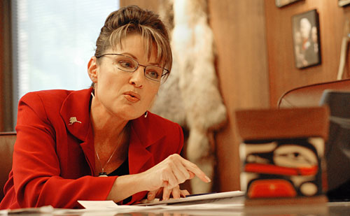 Sarah Palin, the youngest and first woman to serve as governor of Alaska, enjoys huge approval numbers--but something is rotten in Juneau. Her short tenure is already clouded by ethics investigations, the most prominent of which involves the firing of a state trooper ostensibly because of a personal grudge. These local scandals coupled with her lack of experience (she was elected to her first term in 2006) are deemed by most pundits as sufficient to rule her out as a potential national candidate. [AP Images]