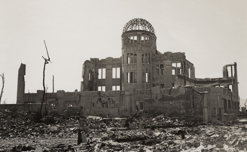 """This month marks the 66thanniversary of the first use of a nuclear weapon during wartime. But have we in this country ever understood the full consequences of its use?  After the United States detonated the atomic bomb """"Little Boy"""" over the Japanese city of Hiroshima on August 6, 1945, American photographers surveyed the unimaginable destruction the blast had wrought.Their photos of the desolated cityscape remained classified for decades, but with this year's exhibit at the International Center of Photography in New York City, they are now accessible to the general public for the first time. The images in the slides that follow provide an unfiltered look into nuclear warfare's destructive power.  Credit: International Center of Photography / United States Strategic Bombing Survey, Physical Damage Division"""