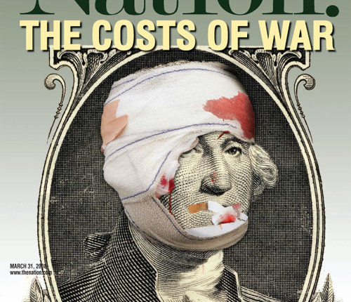 1. Iraq: President Obama has promised to end the war. Will he keep his word? In our March 31 special issue, The Nation explored the staggering cost of the War in Iraq and told a cautionary tale about escalation in Afghanistan.