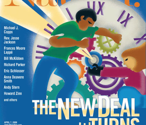 "2. The economy:  Can a ""new New Deal"" halt the recession? The Nation gathered  a panel of experts, thinkers, artists and grassroots leaders to propose a new deal for the 21st century, making the case of an active and strong government."