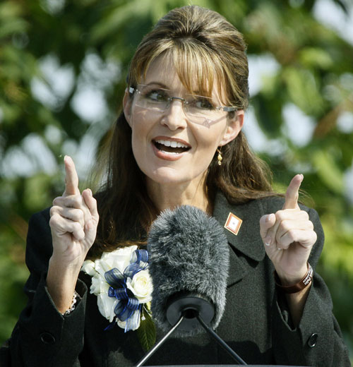 Speaking of Sarah Palin, she is downright ubiquitous in 2009. First there is her very public griping about the way she was handled during the 2008 campaign. In July 3 she awkwardly resigns from the governorship of Alaska for less than reasonable reasons. Finally in mid-November she releases her best-selling memoir Going Rogue, which seems to be intent to settle scores rather that detail any coherent vision for the country.AP Images