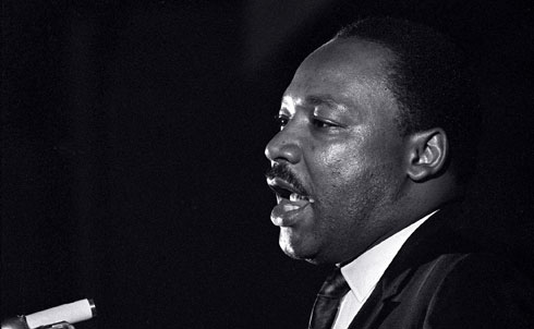 King helped change America's conscience, not only about civil rights but also about economic justice, poverty and war. As an inexperienced young pastor in Montgomery, Alabama, King was reluctantly thrust into the leadership of the bus boycott. During the 382-day boycott, King was arrested and abused and his home was bombed, but he emerged as a national figure and honed his leadership skills. In 1957 he helped launch the SCLC to spread the civil rights crusade to other cities. He helped lead local campaigns in Selma, Birmingham and other cities, and sought to keep the fractious civil rights movement together, including the NAACP, Urban League, SNCC, CORE and SCLC. Between 1957 and 1968 King traveled more than 6 million miles, spoke more than 2,500 times and was arrested at least twenty times while preaching the gospel of nonviolence. Today we view King as something of a saint; his birthday is a national holiday and his name adorns schools and street signs. But in his day the establishment considered King a dangerous troublemaker. He was harassed by the FBI and vilified in the media. The struggle for civil rights radicalized him into a fighter for economic and social justice. During the 1960s King became increasingly committed to building bridges between the civil rights and labor movements. He was in Memphis in 1968 to support striking sanitation workers when he was assassinated. In 1964, at 35, King was the youngest man to have received the Nobel Peace Prize. Some civil rights activists worried that his opposition to the Vietnam War, announced in 1967, would create a backlash against civil rights, but instead it helped turned the tide of public opinion against the war.  From The Nation's Archives: Let Justice Roll Down by Martin Luther King Jr.  Further Reading: Why We Can't Wait by Martin Luther King Jr. Bearing the Cross: Martin Luther King, Jr., and the Southern Christian Leadership Conference by David J. Garrow. Parting the Waters: America in the King Years 1954