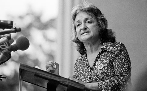"""Her book The Feminine Mystique (1963) helped change American attitudes toward women's equality, popularized the phrase """"sexism"""" and catalyzed the modern feminist movement. In the 1940s and 1950s she worked as a left-wing labor journalist before focusing her writing and activism on women's rights. She co-founded the National Organization for Women in 1966 and the National Women's Political Caucus (along with Gloria Steinem, Fannie Lou Hamer, Bella Abzug and Shirley Chisholm) in 1971.  Further Reading: The Feminine Mystique by Betty Friedan. Betty Friedan and the Making of """"The Feminine Mystique"""": The American Left, the Cold War, and Modern Feminism by Daniel Horowitz.  Credit: APImages"""