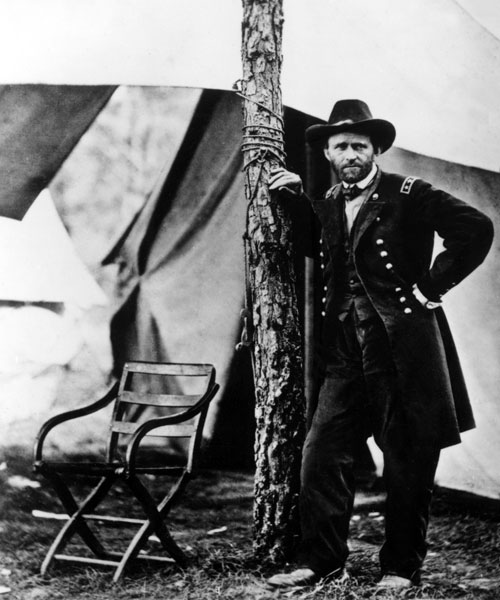 As part of long tradition of war heroes seeking elected office, Ulysses S. Grant was swept into office in 1869, running on a Lincoln-esque platform. However, corruption scandals would permanently taint his legacy. [Everett Collection]