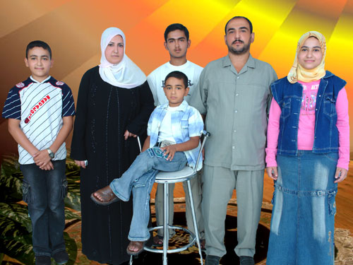 A Kinani family portrait taken in Baghdad shortly before the Nisour Square massacre.Photo courtesy: Mohammed Kinani