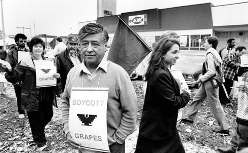 Cesar Chavez in Philadelphia, 1985