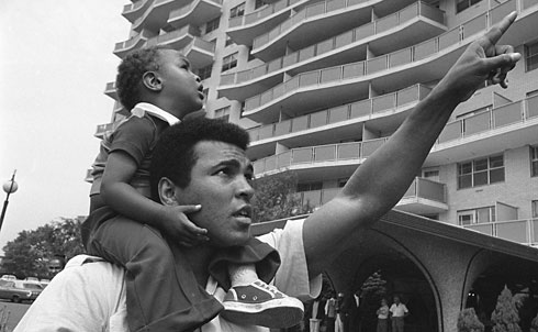 There's no need to rehearse all the political and racial cliches about Ali—he really did, for all his mistakes, play an unlikely and galvanizing role in Black Power and the antiwar movements—but what's gotten lost somewhere under the sociological ruminations and the film clips of his playing of the dozens is the purely athletic. Here was an athlete who married velocity to power as never before; like a mythological creature who combines species, he married the hummingbird speed of Sugar Ray Robinson to the power of the best heavyweights.
