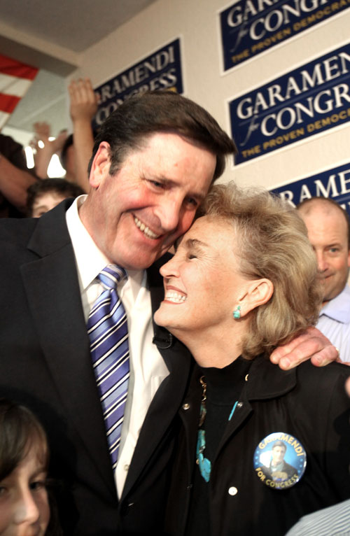 Democrat John Garamendi, who campaigned as an unapologetic backer of sweeping healthcare reform, wins a big victory in the race to fill an open US House seat in northern California. Garamendi, a rabble-rousing critic of big insurance companies who beat the party establishment in the primary, keeps a Democratic seat Democratic. AP Images