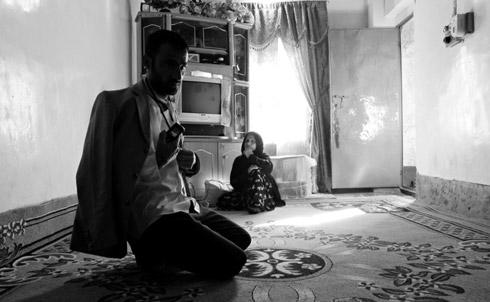 Journalist Zana Ali Ghazi recovering at his home in Saeed Sadiq