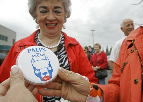 The warm reception Palin receives at the RNC brings a brief surge of optimism among Republicans who polls showed are largely underwhelmed with the McCain campaign to date. Palin's popularity seems to rival that of Obama once again raising questions about the phenomenon of celebrity candidates.[AP Images]