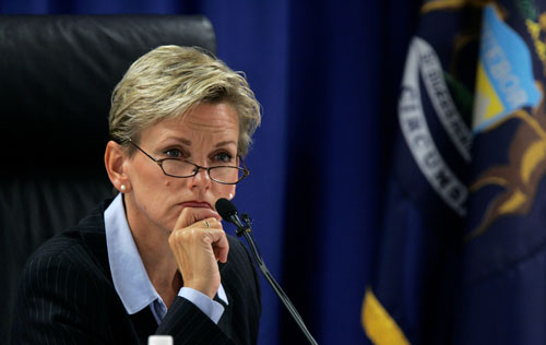 Unlike academics or appellate judges, Michigan Governor Jennifer Granholm is engaged in the day-to-day lives of ordinary citizens. Her broad experience includes a stint as her state's attorney general.