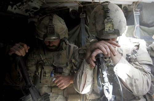 """""""Meaningless is the right term for the Afghanistan war, too, because our bloody attempt to conquer this foreign land has nothing to do with its stated purpose of enhancing our national security. Just as the government of Vietnam was never a puppet of Communist China or the Soviet Union, the Taliban is not a surrogate for Al Qaeda. Involved in both instances was an American intrusion into a civil war whose passions and parameters we never fully grasped and could not control militarily.""""--Robert Scheer Reuters Pictures"""