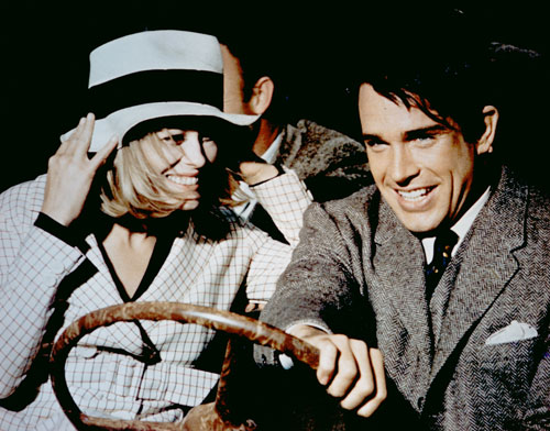 "A breakthrough for Faye Dunaway and Warren Beatty as well as for those behind the camera, this film kicks off a fertile period for iconoclastic auteurs like Arthur Penn, Steven Spielberg, Francis Coppola, Robert Altman, Martin Scorsese and many more. But The Nation's reviewer finds the film ""emotionally untrustworthy"" and the cast ""marvelously plastic."" (Photo: Everett Collection)"