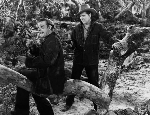 Of Mice and Men (1939) This gritty adaption of John Steinbeck's classic tale of two migrant workers struggling to survive is a stark reminder of exactly how hard times are in America--especially for those at the bottom of the ladder. (Photo: Everett Collection)
