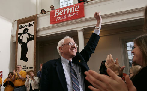 "When Vermont's Bernie Sanders waged a nearly nine-hour December filibuster against extending tax breaks for the rich, he capped a year of not just taking the right stands but acting in a bolder—and invariably more effective—manner than any other senator. Sanders is an independent who caucuses with the Democrats, but this year the emphasis was on independence. He parted with the White House and Congressional leaders to push harder and smarter on issues ranging from media consolidation and the defense of small farmers to healthcare reform and financial regulation. During the healthcare debate Sanders argued mightily for single-payer and a public option. He got neither, but he did secure a provision doubling the number of Federally Qualified Health Centers, which should increase the number of patients receiving primary care at these centers by at least 18 million during the coming decade. Later in the year he amended the final financial services reform bill to require the Federal Reserve to disclose its secret arrangements to aid the nation's largest banks. This ""lifting the veil of secrecy at the Fed,"" as Sanders referred to it, revealed that big banks and multinational corporations collected an estimated $3.3 trillion in ""emergency"" loans and other assistance even as they refused to restructure mortgages or make loans to small businesses in Vermont and other states.   Principled and populist, yet practical enough to get things done, Sanders points the way for progressives in the next Congress by reminding them they can win if they address the stark reality that ""there is a war going on in this country...a war being waged by some of the wealthiest and most powerful...against the working families of the United States of America, against the disappearing and shrinking middle class.""   Credit: AP Images"